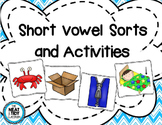 Short Vowel Picture Sort and Activities