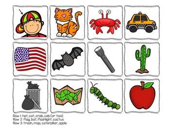 Short Vowel Picture Sort and Activities