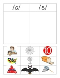 Short Vowel Picture Sort - a and e