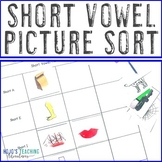 Short Vowel Picture Sort {a,e,i,o,u} Literacy Center