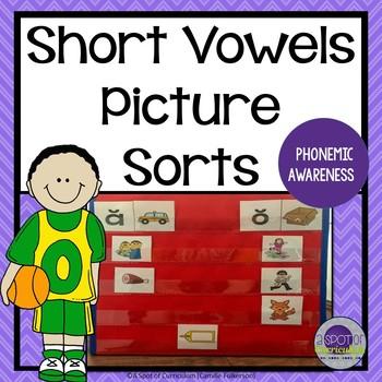 Short Vowel Picture Sorts