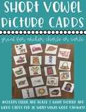 Short Vowel Picture and Word Cards