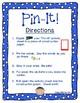 Short Vowel Pin-It: Push Pin Word Work Center