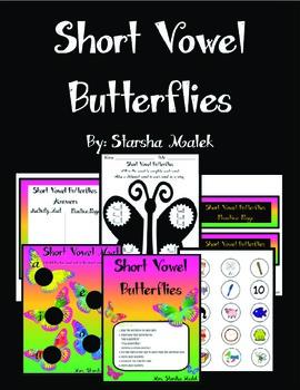 Short Vowel Pocket Folder Center
