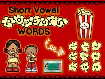 CVC Short Vowel Word Sort