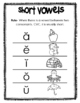 Short Vowel Poster/Reference Page