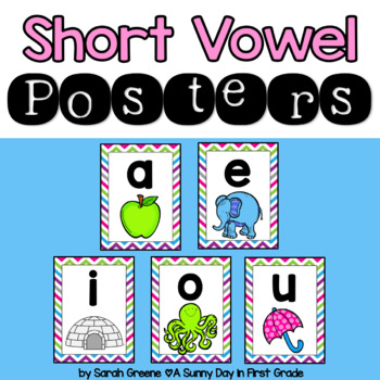 Short Vowel Poster Set!
