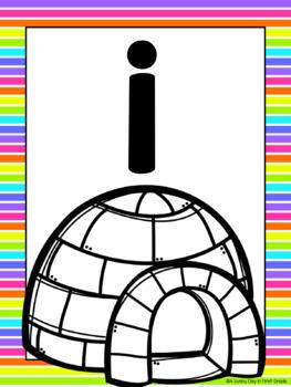 Short Vowel Poster Set {freebie!}