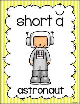 Short Vowel Posters (stripes)