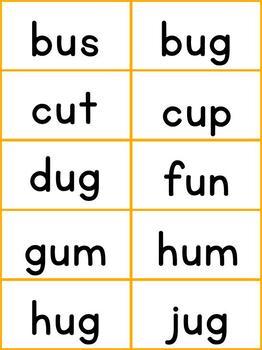 Short Vowel Practice - 6 CVC games