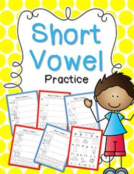 Short Vowel Practice {Click File, Print}