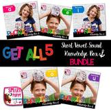 Short Vowel Practice Knowledge Boxes