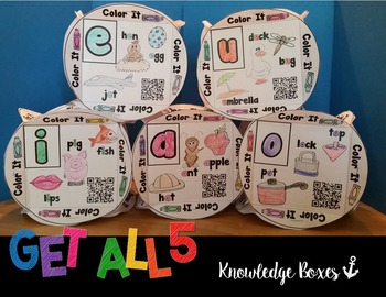 Short Vowel Practice Knowledge Boxes