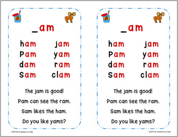 Short Vowel Practice With Warm-Up Cards