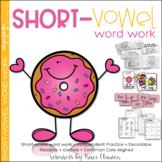 Short Vowel Activities - Phonics Activities and Games - Short-Vowel Word Work