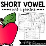 Short Vowel Practice {short a}