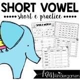 Short Vowel Practice {short e}