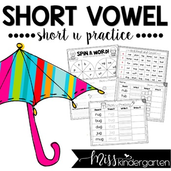 Short Vowel Practice {short u}