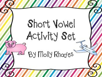 Short Vowel Practice with Puzzles, Word Families, and Worksheets
