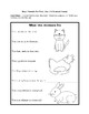 Short Vowel Pre-Assessment for Emergent Readers