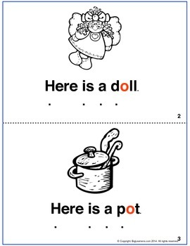 Short Vowel Printable Books For Early Readers - a, e, i, o, u