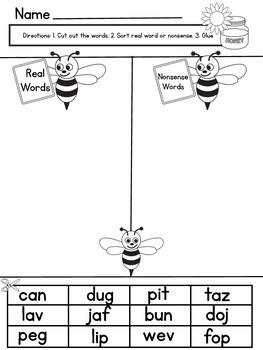 Short Vowel Printables
