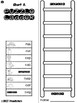 Short Vowel Puzzle Ladders