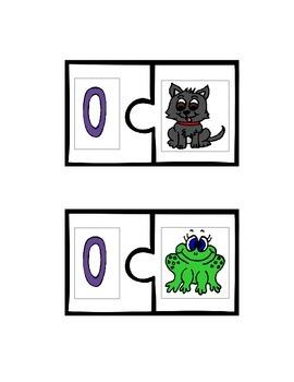 Short Vowel Sounds Puzzles (In Color)