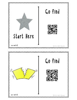 Short Vowel QR Code Hunt Mixed Vowels