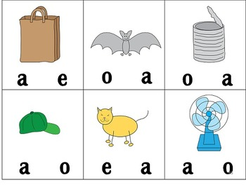 Short Vowel RTI Pack