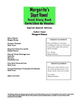 Short Vowel Read Along Book