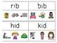 CVC Word Read & Clip Cards Bundle