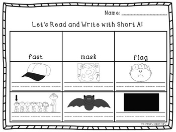 Short Vowel Read and Write