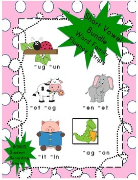 Short Vowel Readers Bundle