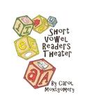 22 Short Vowel Readers Theater/Partner Plays, Flashcards,