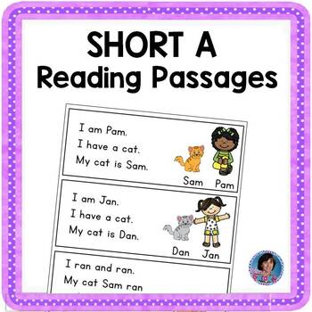 Short Vowel Reading Collection: Short A  {Fun and Repetitive to Build Fluency!}