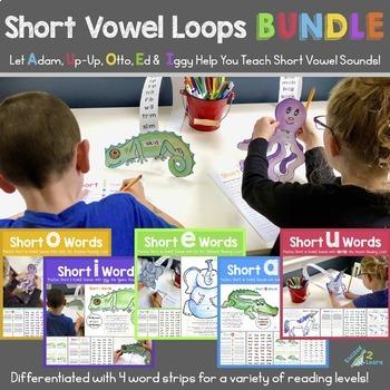 Short Vowel Reading Loops BUNDLE