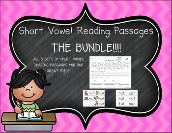 Short Vowel Reading Passages