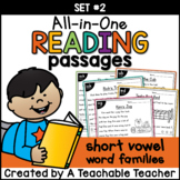 Short Vowel Reading Passages ~ All-in-One Set TWO|Distance
