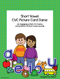 Short Vowel Review - CVC Picture Cards & Activity Ideas