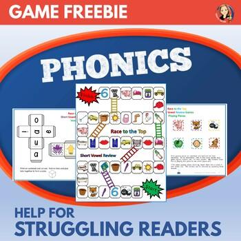 Short Vowel Games Phonics Practice