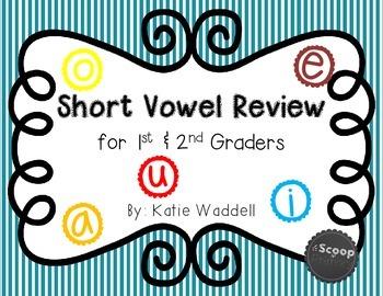 Short Vowel Review {Posters, Activites, & MORE!}