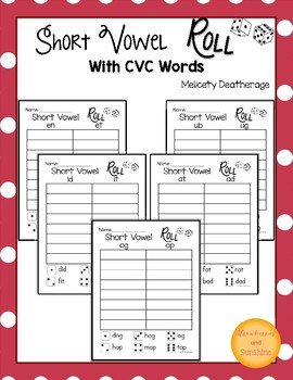 Short Vowel Roll CVC Words and Word Families