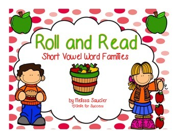 Short Vowel Roll and Read {Fall Themed}
