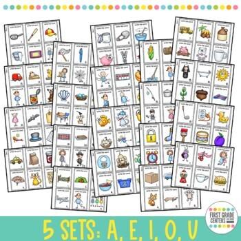 Short Vowel: Scoot  {Short a, Short e, Short i, Short o, Short u} 5 sets