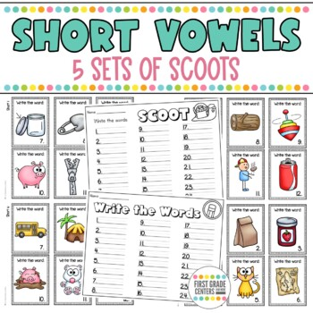 Short Vowel: Scoot  {Short a, Short e, Short i, Short o, S
