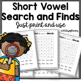 Short Vowel Search and Finds