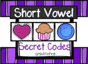 Short Vowel Secret Codes