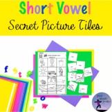 Short Vowel Secret Picture Tiles