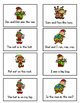 Short Vowel Sentence Fluency - Elf Fun Game